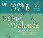 Being In Balance  CD Dr Wayne Dyer