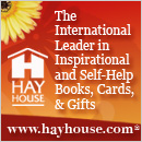 Click here to visit the Hay House website.